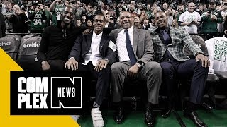 People Clowned Rajon Rondo for Wearing Velcro Shoes to Cavs/Celtics Game
