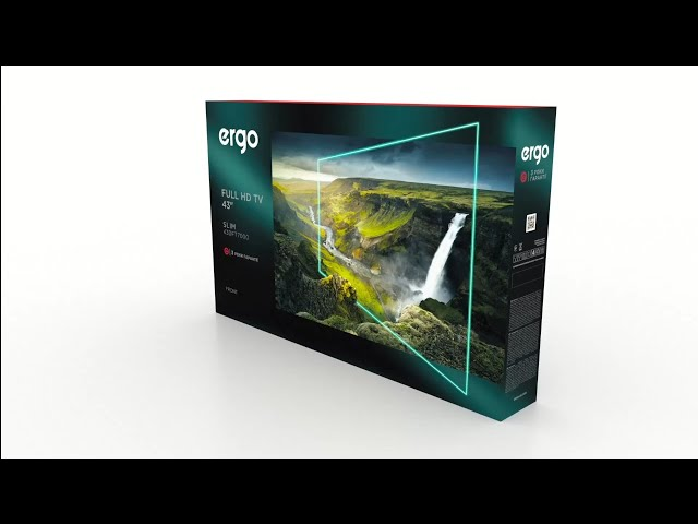 LED-телевізор ERGO 43DFT7000 зображення 2