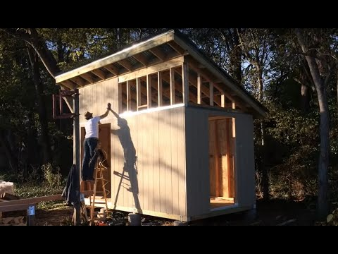 "I Built my Mom a Shed - Plans from the Icreatbles.com ""Modern Shed"""