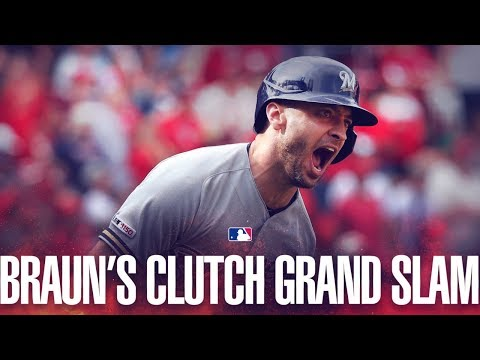 Video: Braun's go-ahead grand slam in 9th
