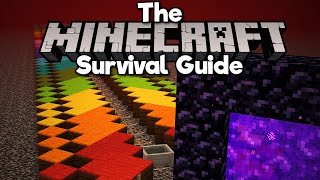 Linking Portals on the Nether Roof! • The Minecraft Survival Guide (Tutorial Let's Play) [Part 294]
