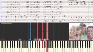 �нь-Ян - Гимн семье (Ноты для фортепиано) (piano cover)