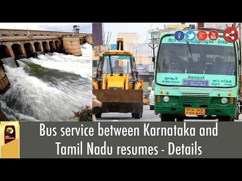 Bus-service-between-Karnataka-and-Tamil-Nadu-resumes--Details