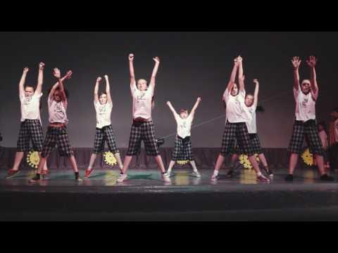 Отчетный концерт GoldenDolls Курган 2016