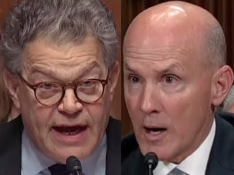 """""""ANSWER THE QUESTION!!!"""" Al Franken GETS PISSED OFF & DESTROYS Equifax Ex-CEO"""