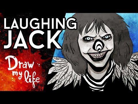 LAUGHING JACK, el PAYASO del HORROR - Draw My Life en Español