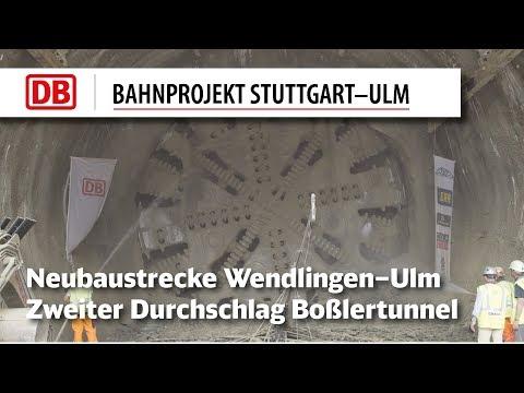Zweiter Durchschlag des Boßlertunnels im...