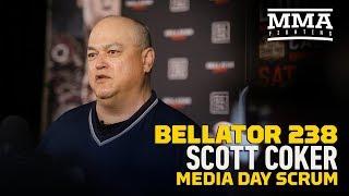 Bellator 238: Scott Coker Media Day Scrum Video - MMA Fighting by MMA Fighting