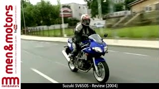 4. Suzuki SV650S - Review (2004)