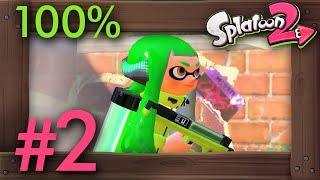 Splatoon 2 100% Walkthrough with No Commentary 1080p 60fps Gameplay. This walkthrough includes straight to the point gameplay and all sunken scroll and sardinium locations. You will also see all bosses, the final boss and the endng. ►SPLATOON 2 - 100% WALKTHROUGH PLAYLIST: https://goo.gl/XttbZM►Twitter: https://twitter.com/beardbaer►Timecodes:00:01 Zone 2: Hub World02:37 M4: Enter the Octohurler - Let It Roll!08:21 M5: The Octopart - Stay on Your Grind13:15 M6: Octozeppelin Invasion - Time to Set Sail18:46 M7: Back-Alley Cleanup - Such It Up25:43 M8: Spinning Campground - Ink Me Out, Ink Me In29:43 M9: Octoling Strike - Riot in the Reef!34:10 B2: The Showdown - Fear the Octo Samurai►Game Informations:▪ Title: Splatoon 2▪ Developer: Nintendo▪ Publisher: Nintendo▪ Platform: Switch▪ Genre: Third-person shooter▪ Playtime: 5+ hours (single player)