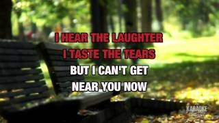 Right Here Waiting in the style of Richard Marx | Karaoke with Lyrics