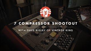 Video Seven Compressor Shootout With Dave Rieley of Vintage King MP3, 3GP, MP4, WEBM, AVI, FLV September 2018