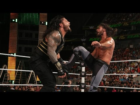Roman Reigns Vs. Seth Rollins Full Match HD  - Money In The Bank 2016