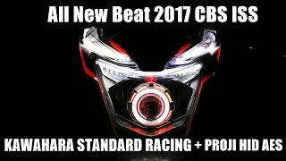 Video Honda All New Beat 2017 CBS ISS KAWAHARA STD RACING + PROJI HID AES MP3, 3GP, MP4, WEBM, AVI, FLV September 2018