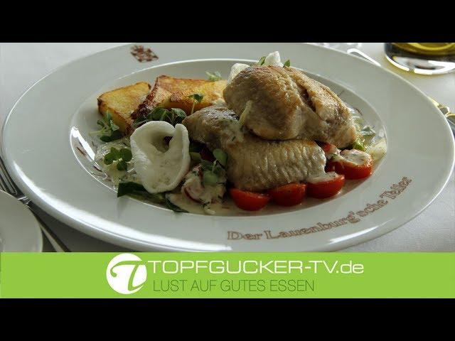 Der Lauenburg'sche Teller | Welsfilet | Lauchgemüse | Meerrettichsoße | Topfgucker-TV