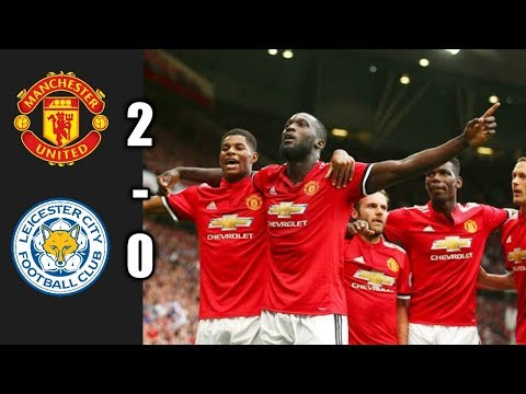 Manchester United vs Leicester City All Goals Highlights Premier League