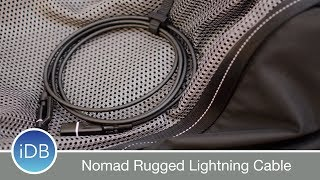 Learn more: http://bit.ly/2vuUc5ONomad's Ultra Rugged lightning cable is MFi certified, reinforced, and protects the ends with removable dust caps. ~~Visit us at iDownloadBlog.com for more Apple news and videos!Download the free iDB app for the latest news! https://goo.gl/bY6OvS~~#Social:http://www.twitter.com/iDownloadBloghttp://www.facebook.com/iDownloadBloghttp://www.twitter.com/Andrew_OSU