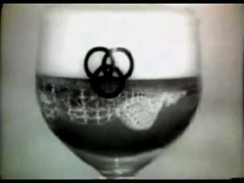Vintage Commercial - Ballantine Beer at the Amusement Park