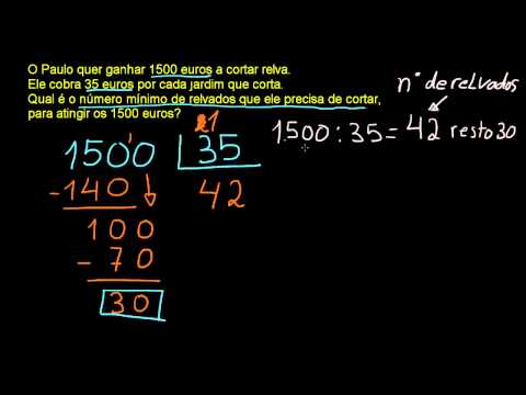 Aprender a Dividir Números Inteiros exercício 6