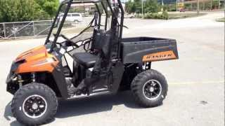 9. 2013 Polaris Ranger 800 EFI Midsize LE in Nuclear Sunset Orange at Tommy's MotorSports