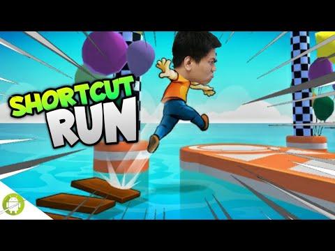 DI GAME INI JALAN PINTAS ADALAH SEGALANYA WKWK!!! Shortcut Run [SUB INDO] ~Lomba Lari Terunik!