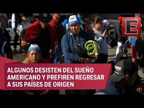 Tijuana arranca programa de repatriación de migrantes