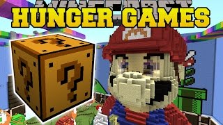 Video Minecraft: SUPER MARIO HUNGER GAMES - Lucky Block Mod - Modded Mini-Game MP3, 3GP, MP4, WEBM, AVI, FLV Juni 2018