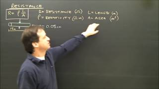 Simple Electricity Calculations Resistance Formula Part 7