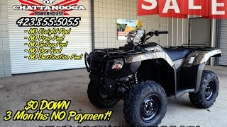 10. 2016 Foreman RUBICON 500 EPS Camo ATV SALE - Discount Prices @ Honda of Chattanooga!
