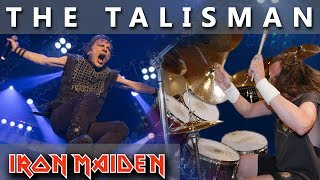"""Click Subscribe! ►http://bit.ly/MikiMaiden""""The Talisman"""" is my first Iron Maiden drum cover I ever made. For me this is one of the best Iron Maiden songs.MIKI MAIDEN Equipment: ►Yamaha Drums: Yamaha Beech CustomTom Tom 12""""Tom Tom 13"""" Flor Tom 16""""Snare Drum - Spirit Of Maiden ( Limited Edition ) 14""""Bass Drum pedal - DW 9000Hi- Hat Stand - DW 5000►Remo Drumheads:Bass - Evans eq4 Snare - Front - Remo Cantrolled Sound CoatedSnare - Back - Remo Ambasador Hazy Snare SideTom-Tom & Flor Tom - Front  -  Remo Ambasador X CoatedTom-Tom & Flor Tom  -  Back - Remo Ambasador Ebony►Paiste Cymbals:Hi-Hat - Paiste Signature Reflector Heavy Full Hi-Hat 14""""Ride - Paiste Signature Reflector Bell Ride 22"""" ( Powerslave )Crash - Paiste Signature Reflector Heavy Full Crash 17""""Crash - Paiste Signature Reflector Heavy Full Crash 18""""Crash - Paiste Signature Reflector Heavy Full Crash 19""""Crash - Paiste Signature Reflector Heavy Full Crash 20""""Crash - Paiste Signature Reflector Full Crash 16""""Crash - Paiste RUDE Crash/Ride 17""""China - Paiste Signature Reflector Heavy China 18""""DynaVox custom drum sticks - Blaz McSatler►Sound Recording:Roland - R 26 (6 Channel Digital Field)Microphone - 2x Rode NT 5 - Cardioid Studio CondenserIpod nano (space gray)►Video Recording:1x GoPro Hero 5 Black2x GoPro Hero 4 BlackIron Maiden Drum Cover  Real Drum  Best Drummer  Nicko McBrain  Best Drum CoverSpecial thanks to Wind Orchestra Zelezarjev Ravne for help and support►http://bit.ly/zelezarjiPeace out ☮"""