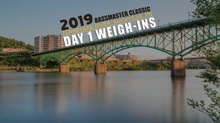2019 Bassmaster Classic Day 1 Weigh-in