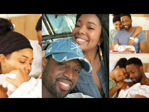 'Lovely Day': Gabrielle Union & Dwyane Wade Welcome First Child Together...