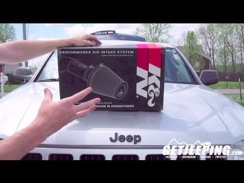 How To: Install K&N 57 1545 Air Intake for 2005-2012 Jeep Grand Cherokee WK – GetJeeping