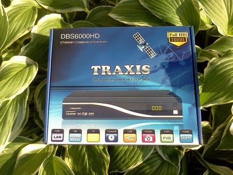 traxis - The New Traxis DBS6000HD finally got here, had to update the firmware and satellite list, but now its a flying machine with THE best picture quality for your...