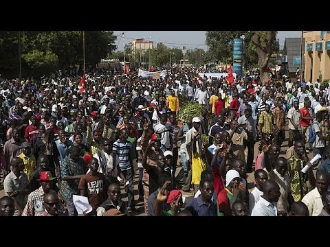 president - Violent clashes broke out in Burkina Faso's capital Ouagadougou after a second day of protests denouncing the president's plan to seek re-election. The political crisis spilled out onto the...