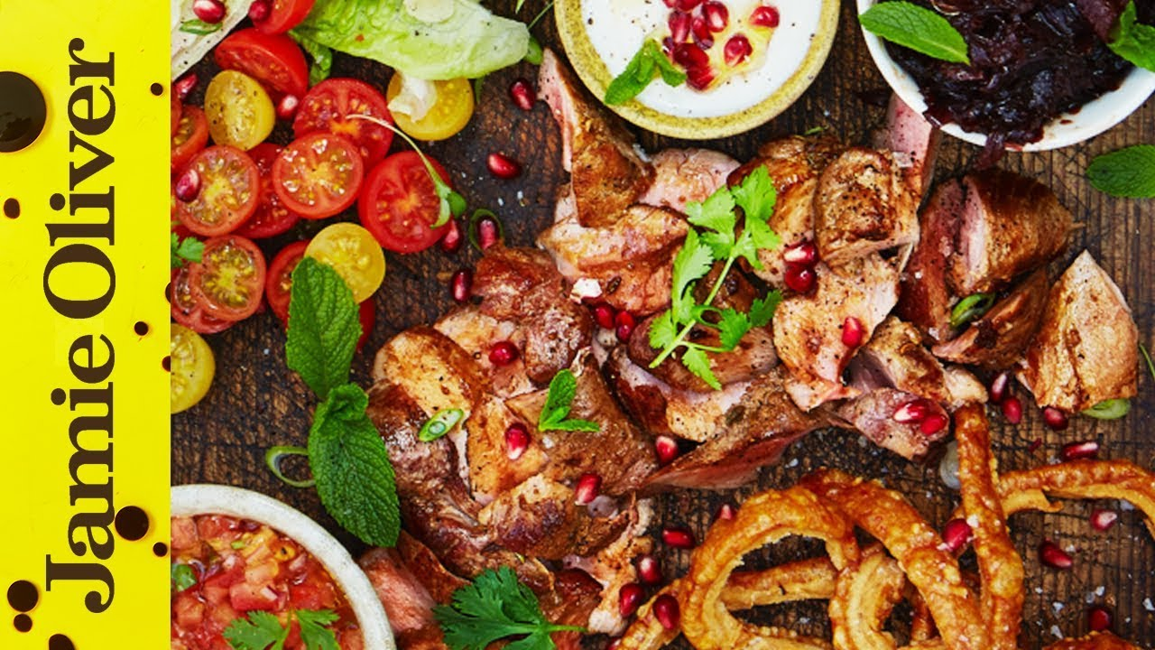 Posh Pork Kebabs  Jamie Oliver