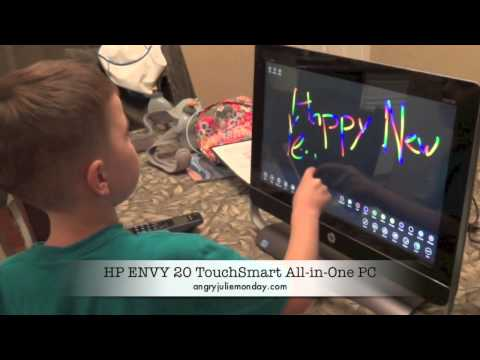 HP ENVY 20 TouchSmart AiO PC Review #PinTheHalls