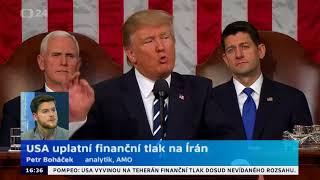 Postup USA proti Íránu