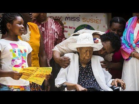 ΗΠΑ: Τα 116α γενέθλιά της γιόρτασε η γηραιότερη γυναίκα του κόσμου
