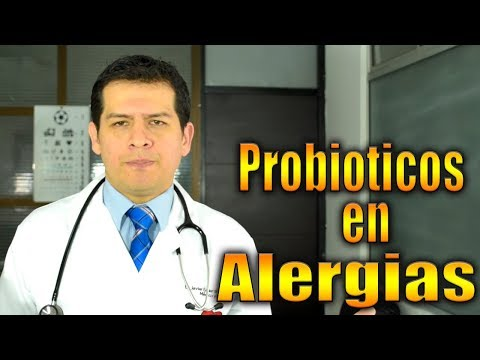 CURESE las alergias con probioticos video 732 Dr JAvier E Moreno