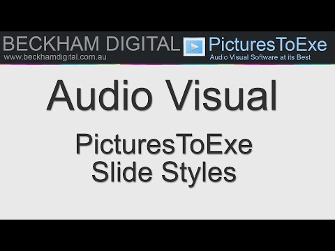 PicturesToExe 9 - Tips and tricks