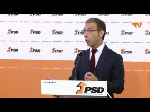 Conferência de imprensa de Duarte Pacheco