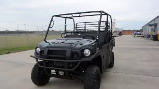 7. $14,199:  2016 Kawasaki Mule Pro DXT Diesel in Black Overview and review