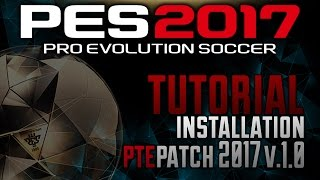 Welcome to my brand new tutorial dedicated to the new PTE Patch PES 2017 to 2017. Below is the link for a free download☀ DOWNLOAD PATCH MY LINK: http://pescommunity.altervista.org/2016/10/10/pte-patch-2017-1-0-released-09102016/●► DOWNLOAD ORIGINAL LINK: http://ptepatch.blogspot.it/2016/10/pes17-pte-patch-2017-10-released.html●► VIDEOGAMES DISCOUNTS -70% https://www.instant-gaming.com/igr/SGDiscount/●► HITBOX LIVE: http://www.hitbox.tv/SuicideGamingYT☀ FOLLOW ME IN THESE SOCIAL:●► Private Facebook Profile: https://www.facebook.com/marco.sarullo1●► Google+: https://plus.google.com/u/0/b/107581415788871201537/+MarcoSarulloOfficialPES☀ PESCOMMUNITY ITALIA SOCIAL:●► PESItalia Facebook: https://www.facebook.com/PESCommunityit/●► Twitter PESItalia: https://www.twitter.com/PESCommunityit●► WebSite: http://pescommunity.altervista.org/●► Instagram: https://www.instagram.com/pescommunityit☀ Business: marcosarullo89@gmail.com☀ Buy now PES 2017 PC: http://store.steampowered.com/app/456610☀ NoCopyrightSounds: https://www.youtube.com/user/NoCopyrightSounds© Copyright by SuicideGaming (Marco Sarullo)