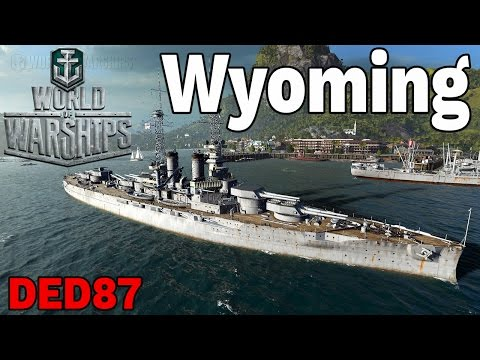 ogrom dział!  - Wyoming - World of Warships