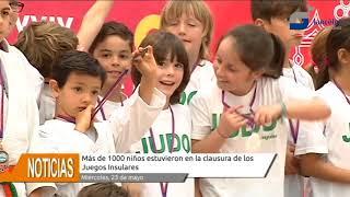 Más de mil niños cierran los Juegos Insulares de Promoción Deportiva