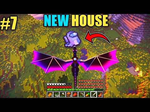 #7 | New Modern House Of Ogyy And Jack | With Dragons | Minecraft | In Hindi | Rock Indian Gamer |