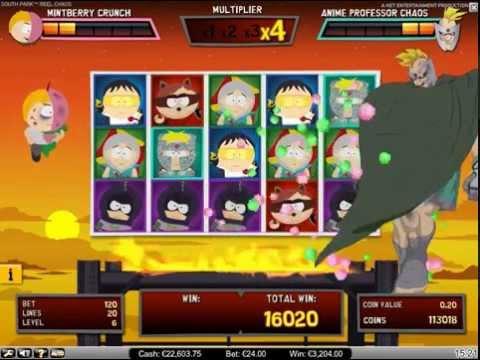 South Park™: Reel Chaos - Bonus Round - Net Entertainment