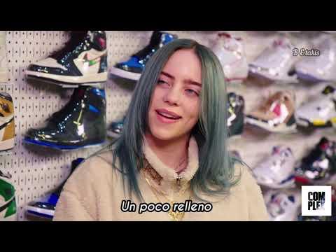 Billie Eilish va a comprar zapatillas con Complex // SUBT. EN ESPAÑOL (parte 1)