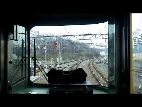 1前面展望 西武池袋線 快急 池袋行vol,1 Cab view of Seibu Ikebukuro line for Ikebukuro (видео)